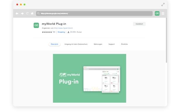 1. Installera myWorld Plug-in